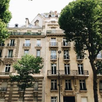 Strolling through Rue de Saint Germain, Paris, France.