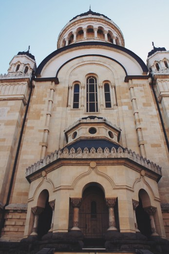 An Orthodox Cathedral in Piata Avram Iancu.