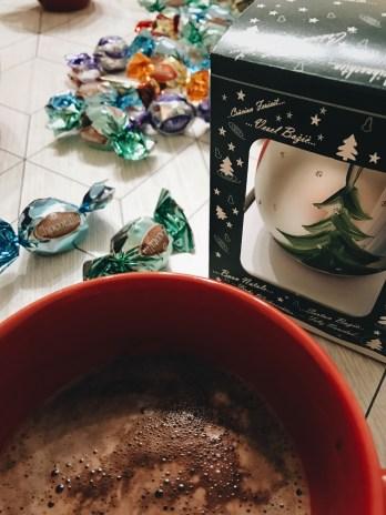 La o ciocolata calda cu verisori :)