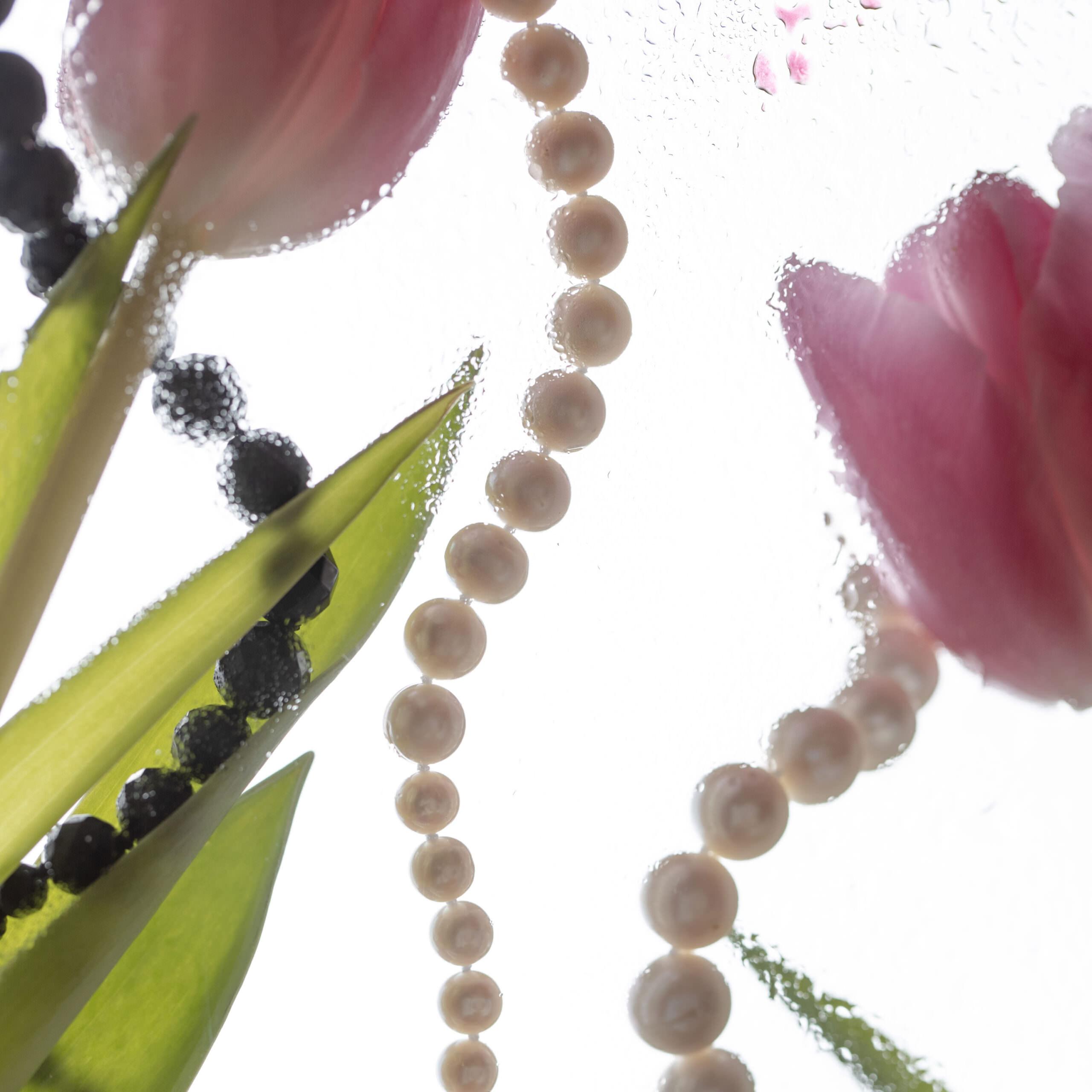 perlen mit tulpen