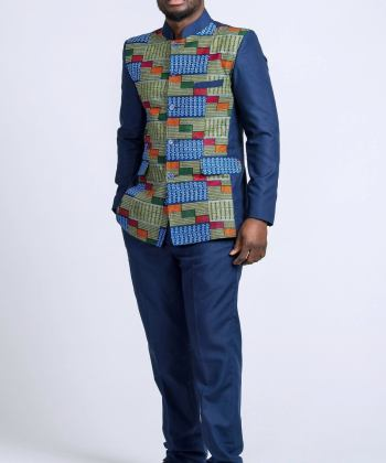 BLAZER PANT African print blazer for men Kente suit vest