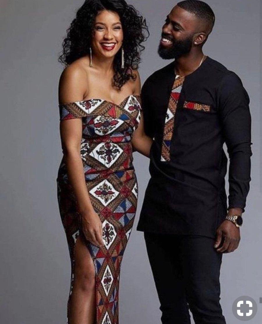 LisabelByLisabel African Clothing Couples Oufit