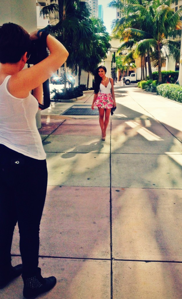 Photoshoot Behind the Scenes Miami