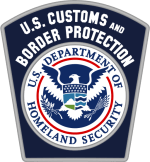 photo of U.S. Customs and Border Protection patch