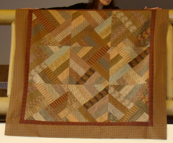Jean Jeske- A scrappy quilt make with Whimsical's Fabric