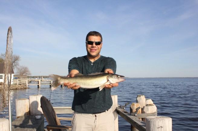 Nick and his big walleye...