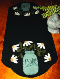 Just Picked 8x18 Designed by:  Lisa Bongean Primitive Gatherings Kit/Pattern $27 Pattern only $8