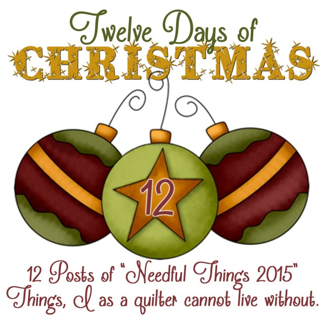 12 Days of Xmas Ornaments 12
