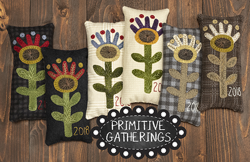 primitive gatheirngs pincusion 2018