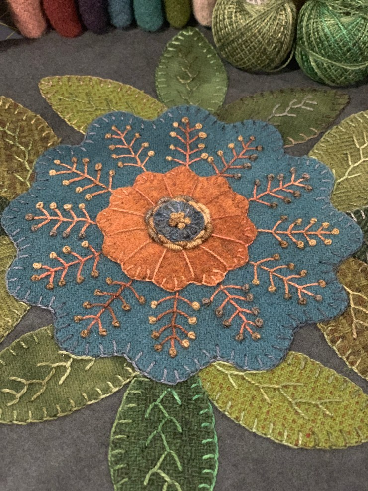 Summer Blocks of the Week featured by top US quilting blogger, Lisa Bongean