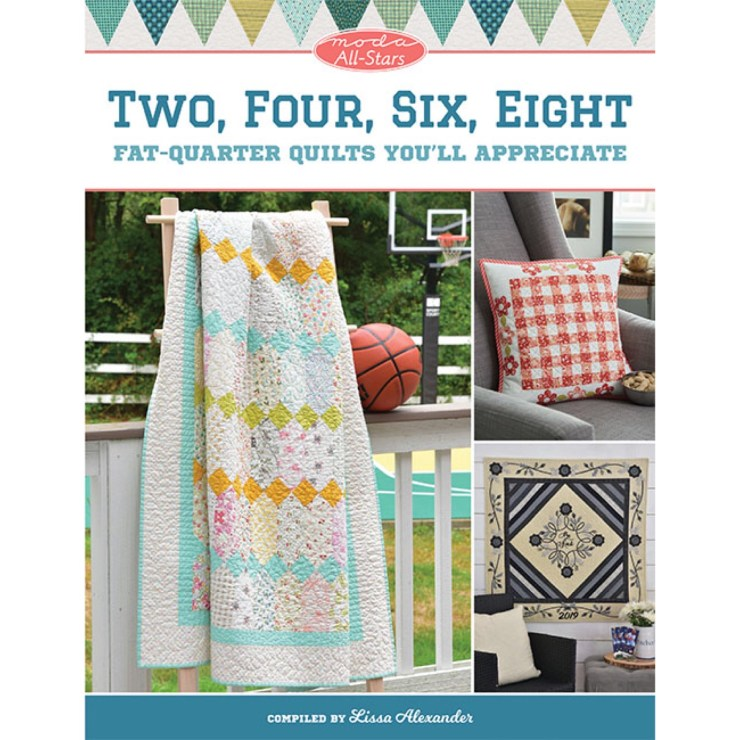 Fat Quarter Quilts featured by top US quilting blogger, Lisa Bongean