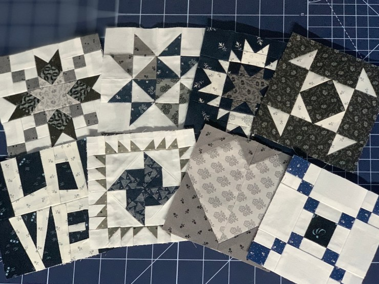 Uneven 9 Patch Quilt Block a tutorial featured as part of the Block Heads quilting series by top US quilting blogger, Lisa Bongean