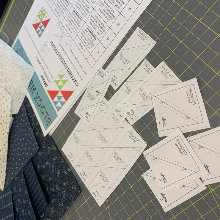 Moda Block Heads 3 Quilt Along Project Block 16 featured by top US quilting blogger, Lisa Bongean.