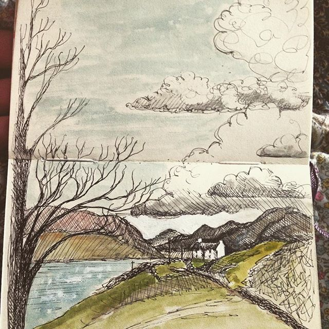 Doodling and daydreaming in Donegal.