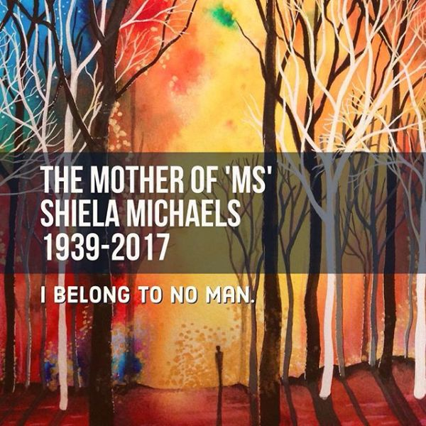 """Sheila Michaels, an American feminist who brought the honorific """"Ms"""" into mainstream use, has died aged 78.  Ms Michaels did not invent the term, but is credited with rescuing it from obscurity after she saw it used in an address, thinking it was a typo. """"Ms"""" did not convey a woman's marital status, unlike the traditional options """"Mrs"""" or """"Miss"""". """"'Ms' is how you address a woman as a whole person. In a culture where women were identified on the basis of their marital status... [it was a] way to define ourselves as individuals, not subordinates or partners."""""""