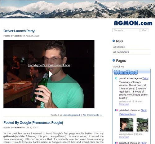 Liad Agmon's blog