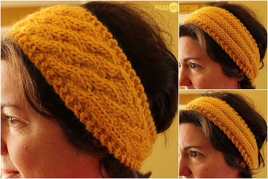 The Headband Pattern Is Here Polka Dot Cottage