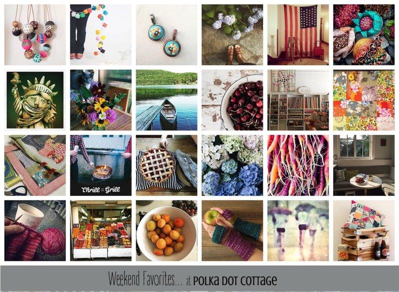 Weekend Favorites at Polka Dot Cottage