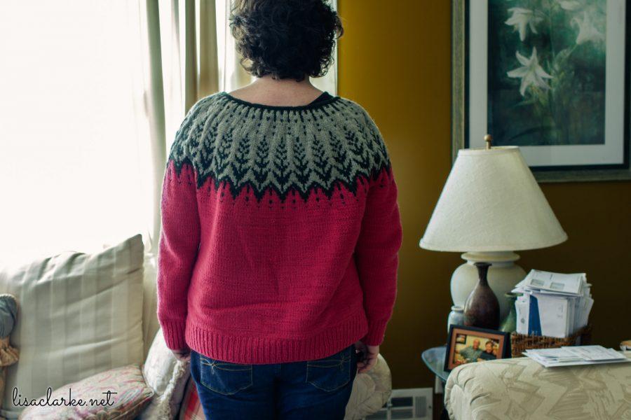 Vintersol Sweater Back
