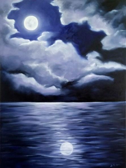 Reflecting Moon e