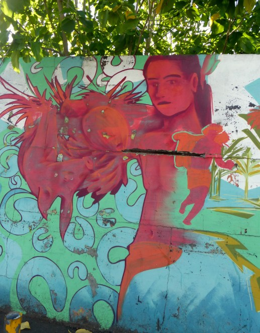 Wall In Papeete (1)