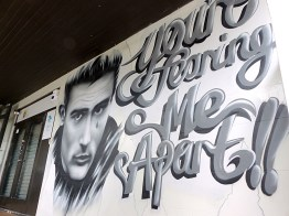 Auckland - Side Door St Kevin's Arcade - James Dean By Enforce 1