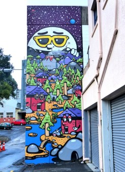 Auckland - Haunt One Wall - All Fresco 2015
