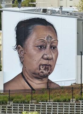 Auckland - Owen Dippie Wall 'Hine' - All Fresco 2015