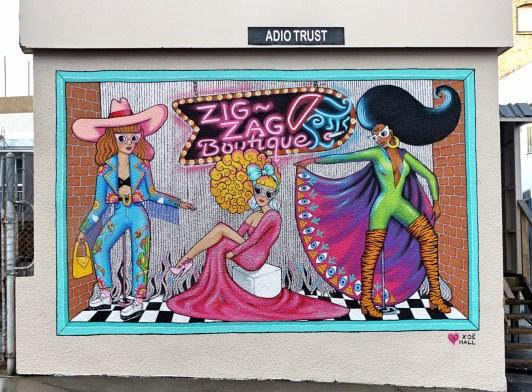 Auckland - Xoë Hall - Zig~Zag Boutique - All Fresco 2015