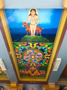 Sri Siva Subramaniya Swami Temple Ceiling