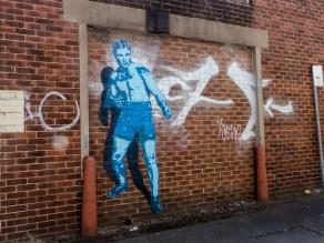 Street Art - Newcastle - October 2015 - Alley Near Hunter Street and Wickham Train Station - Unknown