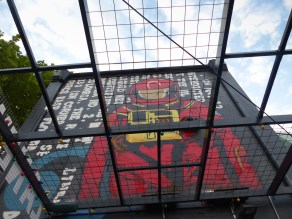Street Art - Newcastle - October 2015 - Astronaut - Laman Street - Unknown