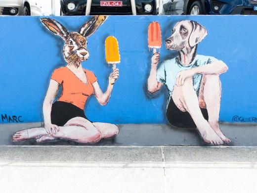 Gillie and Marc Art - Bondi