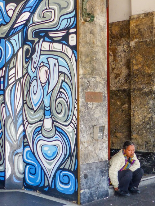 Darlinghurst - Contemplation - Street Artist Phibs
