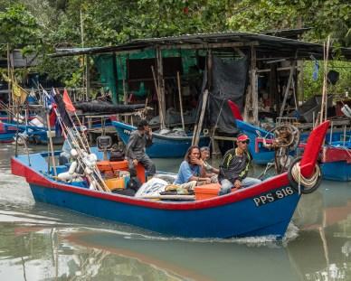 Fishing Boat Kampong Pulau Betong, Penang