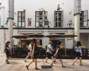 Outside China Place
