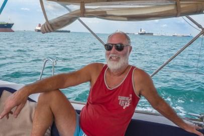 Captain Lucio Crossing The Singapore Strait