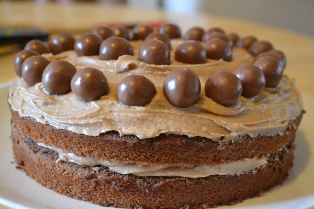 Lisa Bakes: Chocolate Malteser Cake with Malted Buttercream Icing