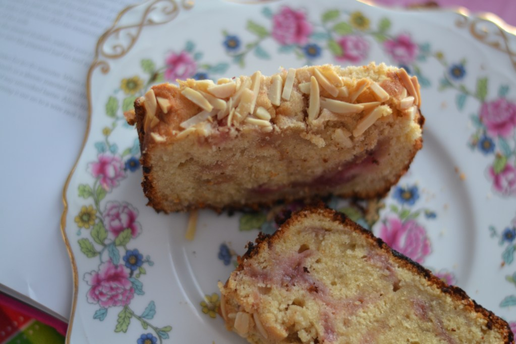 Rhubarb and Almond Loaf