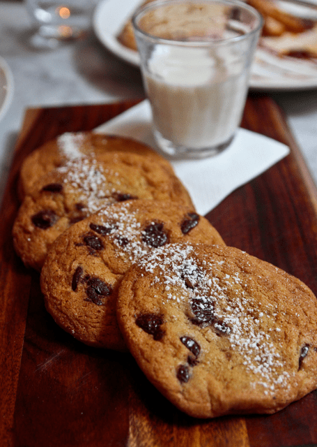 Grain Store - Chocolate Chip Cookies and Milk