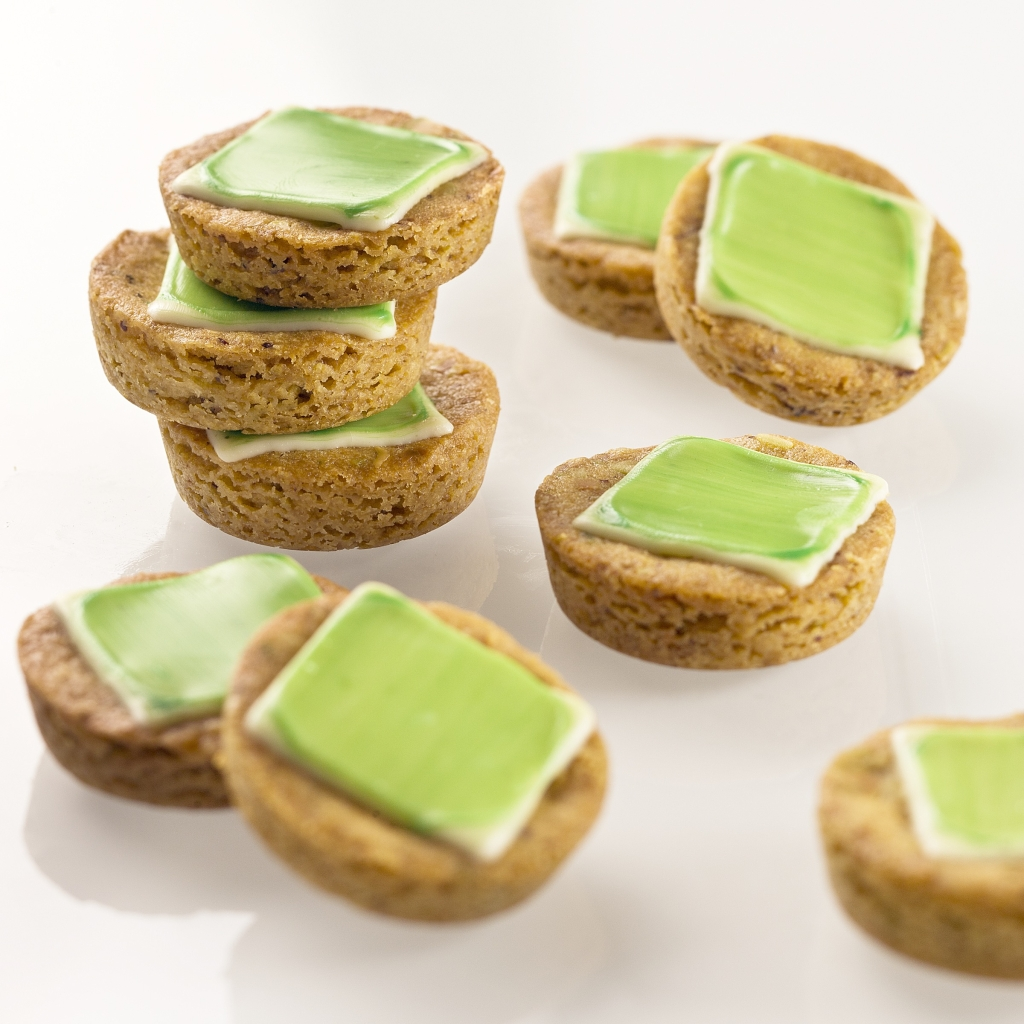 Mint, White Chocolate and Pistachio Persuaders
