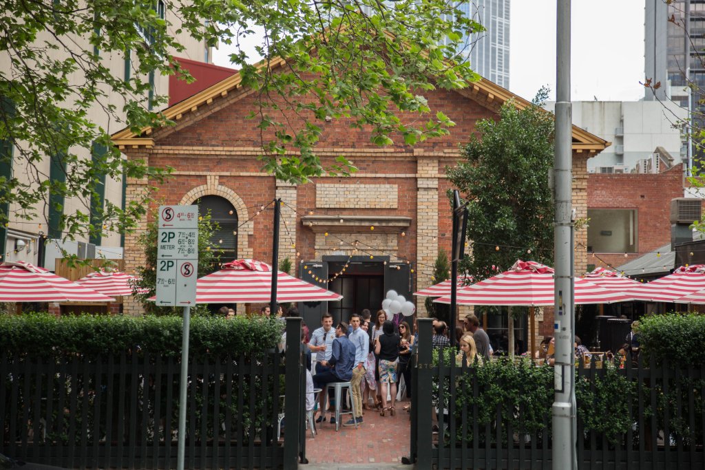 best beer gardens in Melbourne