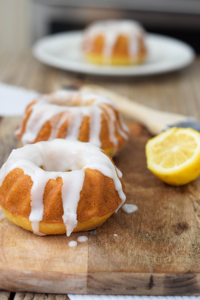 Lemon Drizzle Mini Bundt Cakes