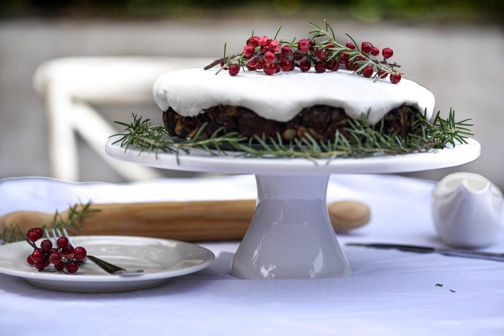 Farmhouse Christmas Fruit Cake