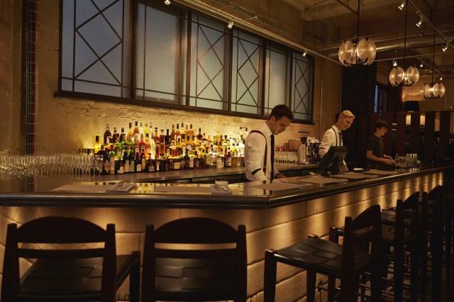 Restaurant Bar at Union Street Cafe