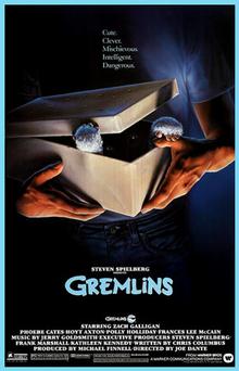 Gremlins (1984) film poster