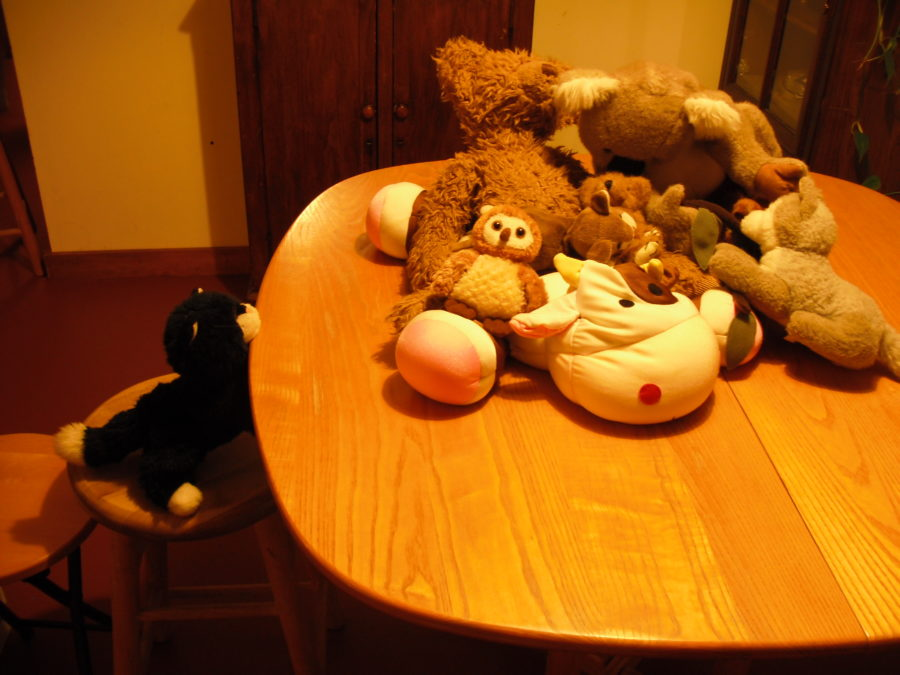 Practice Game: Stuffed Animals' Party!