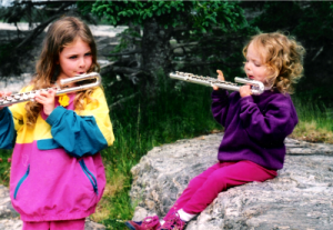 My kids! From beginner flutists to Turidae Trio