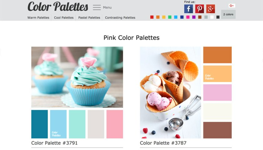 Color Palettes — 6 free tools to help you pick iconic brand colours