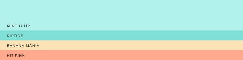 22 hand-picked colour palettes | lisafurze.com
